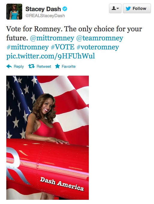 Stacey Dash Comes Out — as a Mitt Romney Supporter