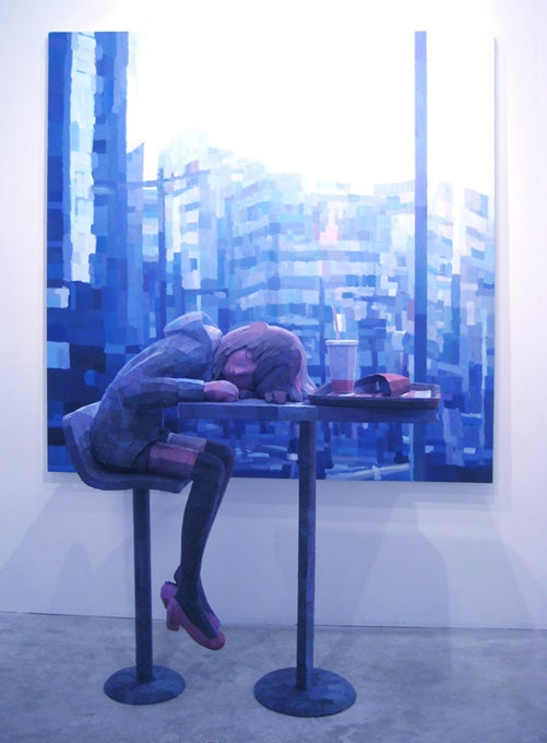 El artista japonés que juega con las percepciones