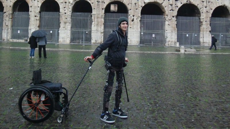 Exoskeletons That Help People Walk Again Are Getting Pretty Darn Good