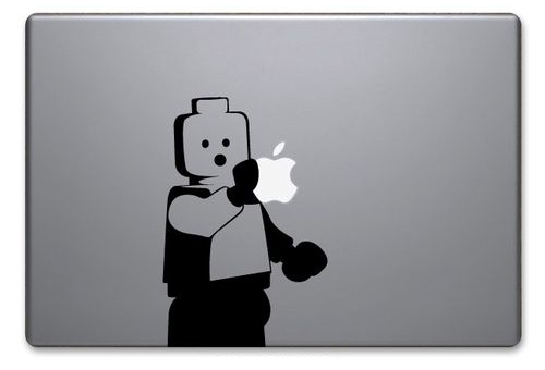 Lego Minifig Macbook Decal: Too Cute to Let Go