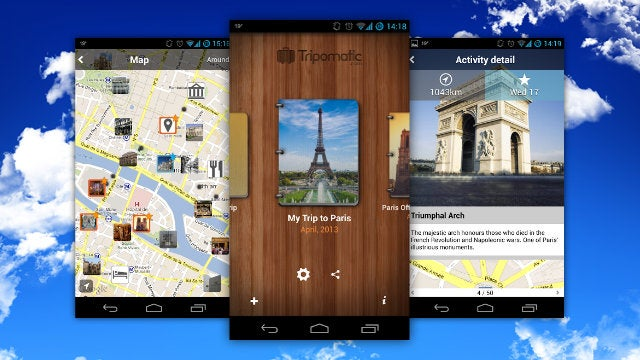 Tripomatic Tracks Your Vacation Itinerary with Photos and Maps