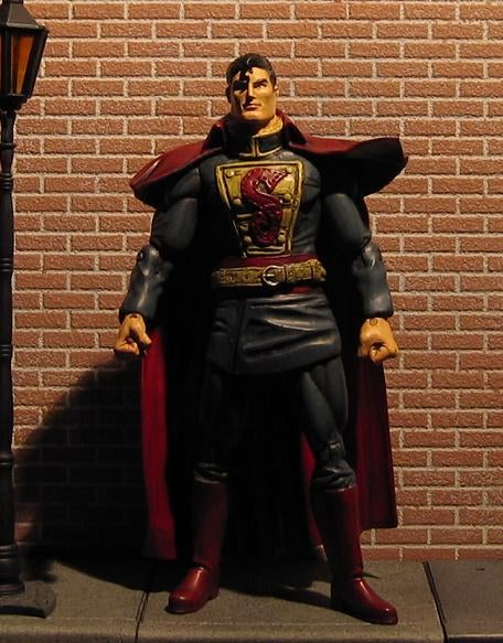Steampunk Justice League Modded Action Figures