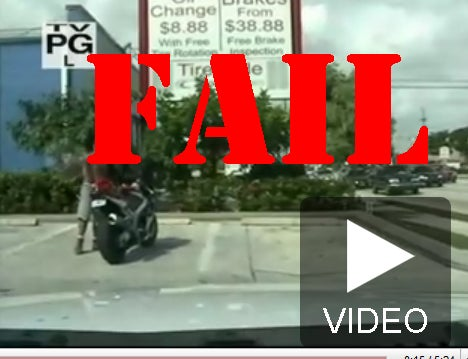 Biker Busted For Speeding Tries To Fight The Law And Guess Who Won