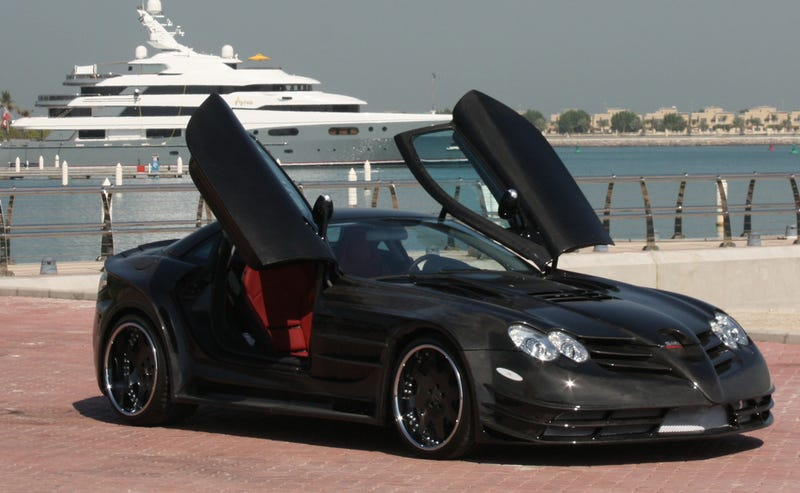 ASMA Perfectus McLaren SLR 722 Takes Our Breath Away, In A Bad Way