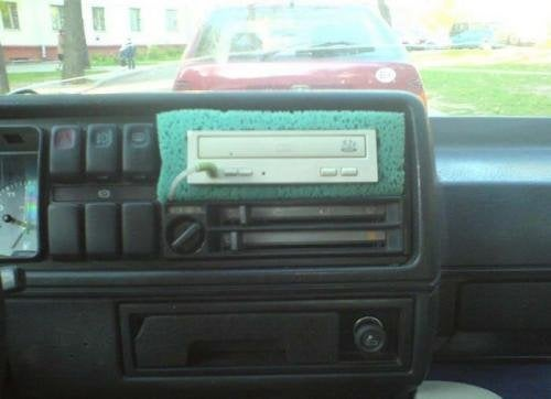 The Most Ghetto Car Stereo Ever Makes Duct Taped Windows Seem Classy