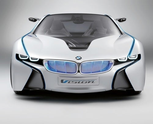BMW's Tron-Like Turbodiesel Concept Rendered For Your Pleasure
