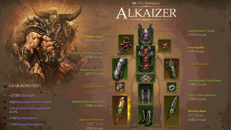 Meet Diablo III's First Paragon Level 100