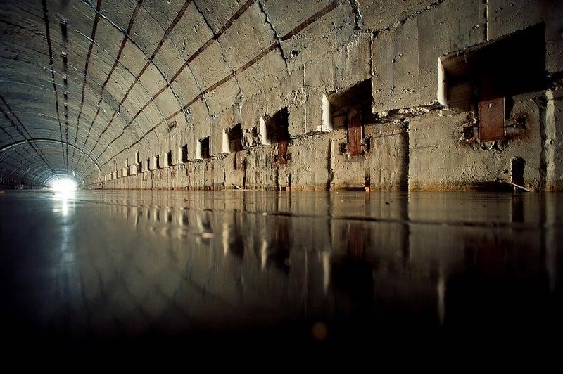 Journey into the Dystopian World of Abandoned Soviet Submarine Bases