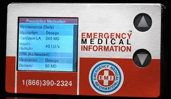 EMI 911 Card Gives Life Alert a Run For Its Money