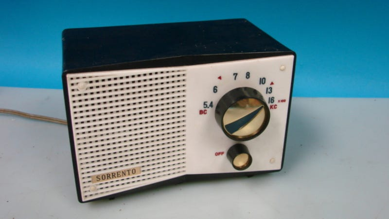 Tune in Tokyo-style with This Vintage Space Age Tube Radio