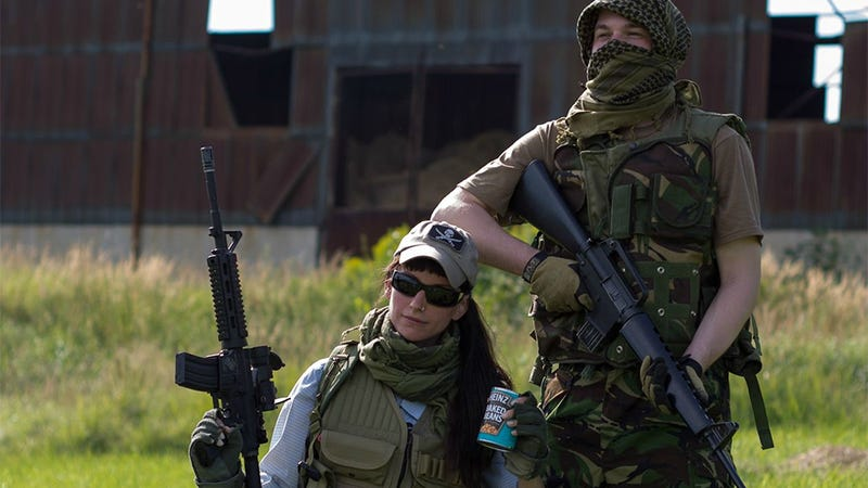 These Guys Went to the Real DayZ Island, Dressed Up And Took Pictures