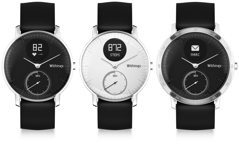 Withings Hides Top Fitness Tracking Features in Attractive Watch