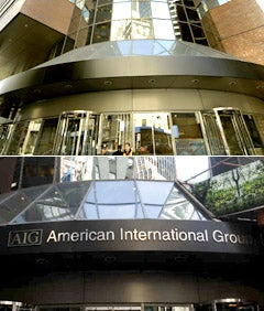 AIG Nixes Name on Wall Street Building