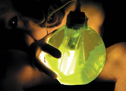 Green Slime Lamp: Filled With Gel, Empties Your Soul