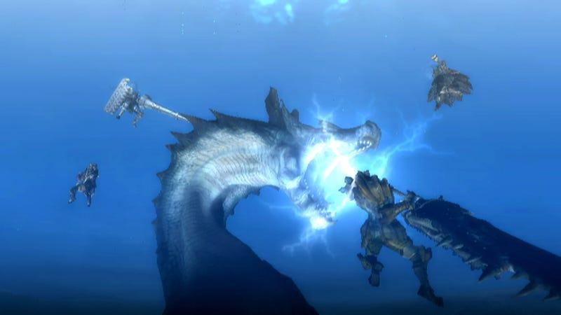 Monster Hunter Tri Dated For April, Online Multiplayer Goes Free