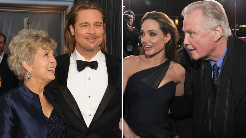 Angelina Jolie's Racist Dad Sticks Up For Brad Pitt's Homophobic Mom and Everyone Is Embarrassed