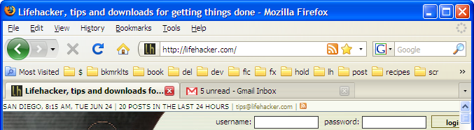 How to Consolidate Firefox 3's Chrome