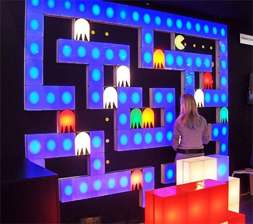Pac-Man Lights Won't Chomp Your Wall or Attract Ghosts