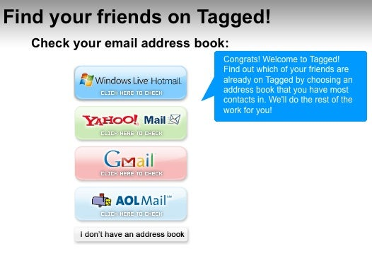 Don't Give Your Email Address and Password to Other Web Sites