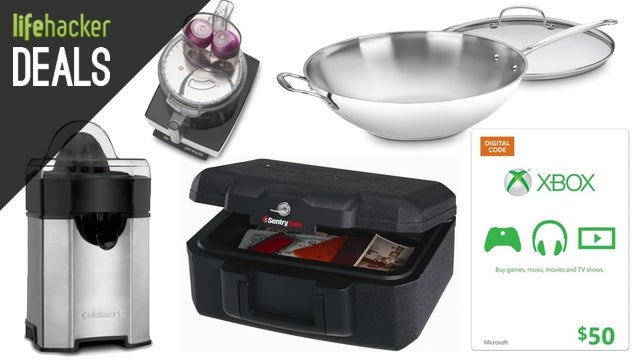 Upgrade Your Kitchen, Protect Your Valuables, Go to a Movie [Deals]