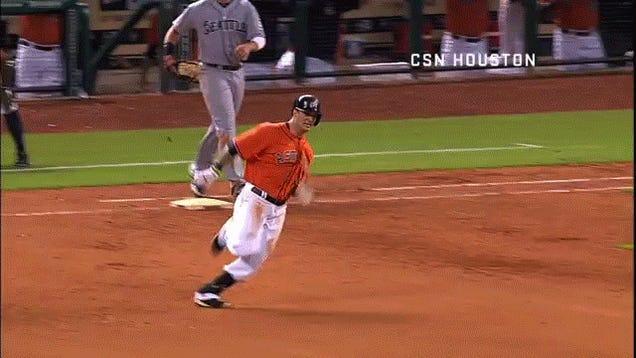 Astros' Season Peaks With Brandon Barnes' Gift Cycle