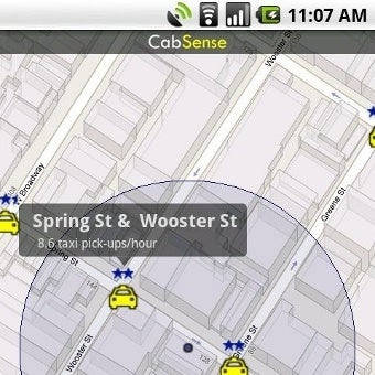 CabSense Predicts the Best Cab-Hailing Spots in NYC