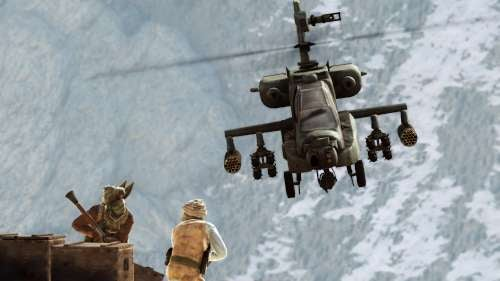 Playing Through Medal of Honor's Apache Helicopter Level