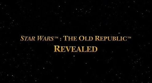 A First Look At Star Wars: The Old Republic MMO