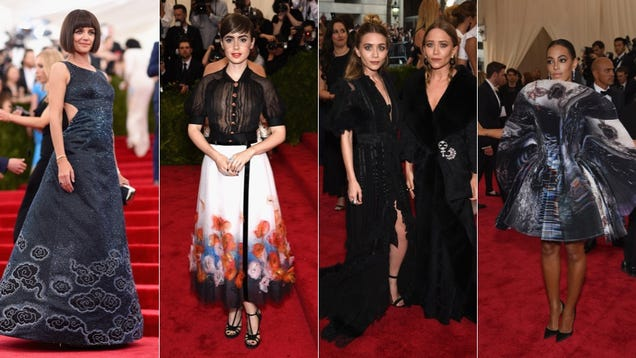 All the Wild, Potentially Disastrous and Boring Gowns of Met Gala 2015