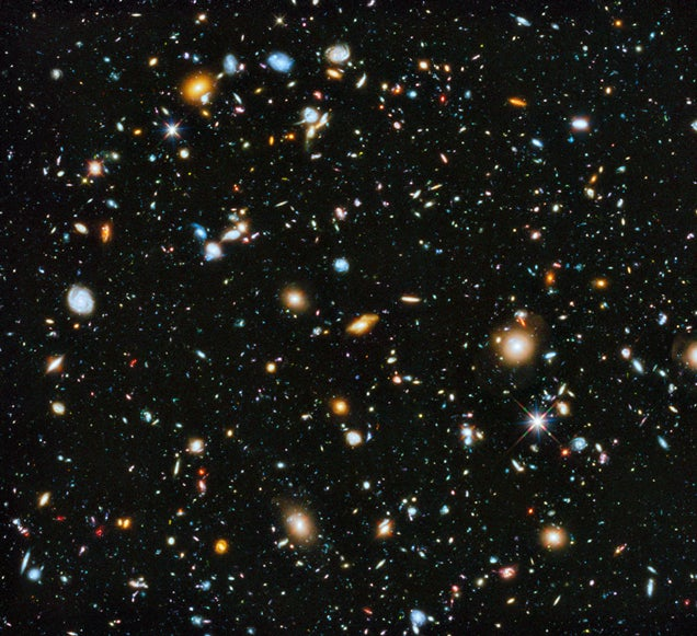 NASA reveals the most colorful and detailed image of the Universe