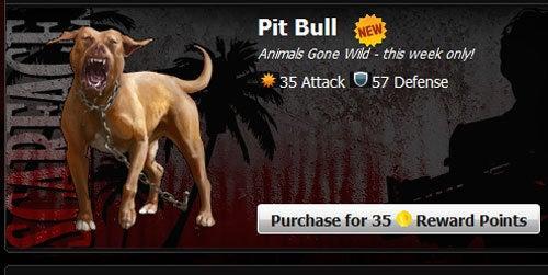 Mafia Wars to Weaponize Animals