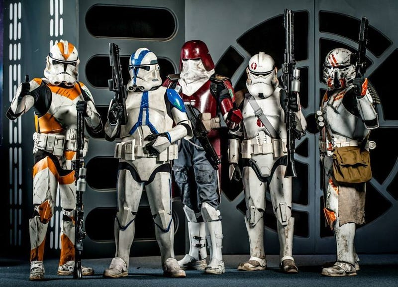 The Force Is Strong With These Cosplayers
