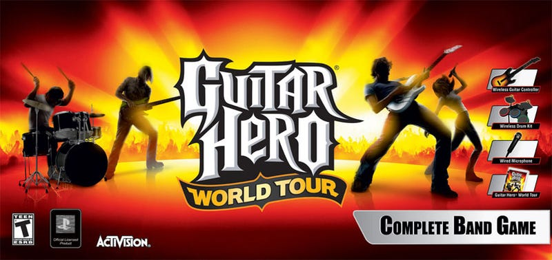 GameStop Slashes Prices On Guitar Hero World Tour & More