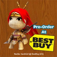 Where To Get Your LBP Nariko SackGirl