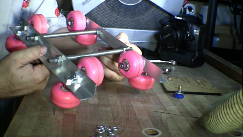Create a Dirt Cheap Camera Slider Using Skateboard Wheels