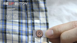 No Time to Sew? A Clip-On Button Is the Perfect Temporary Fix