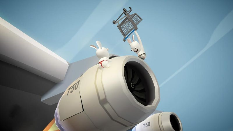 Rabbids Go Home Preview: Rabbids Go In Your Wiimote