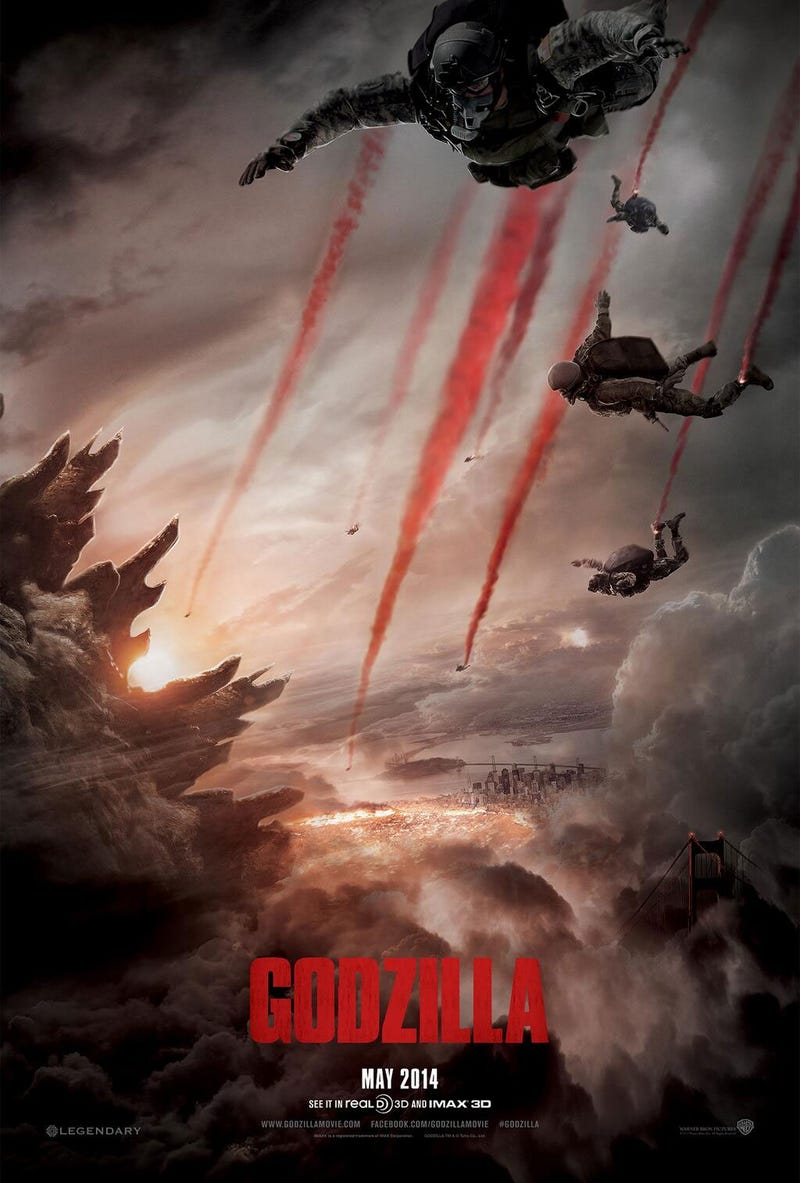 Godzilla Trailer Looks Like Battlefield With Giant Monsters