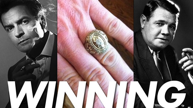 "The Messy History Of Charlie Sheen's ""Winning"" Ring"