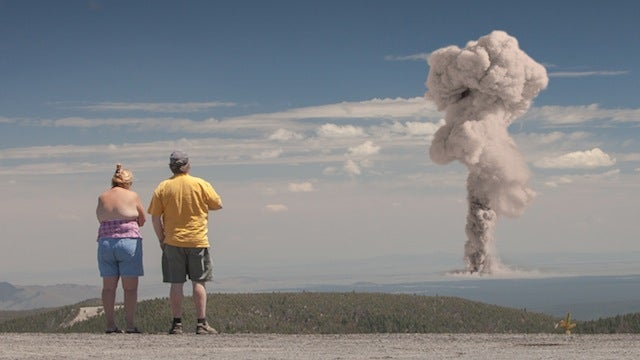 Photos imagine atomic bomb tests as a modern tourist attraction