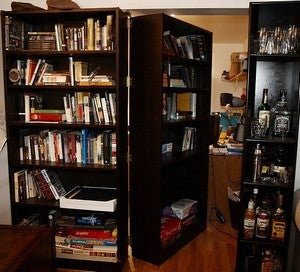 Turn a Bookshelf into a Secret Passage