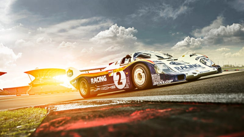 Your Ridiculously Awesome Porsche 956 Wallpaper Is Here