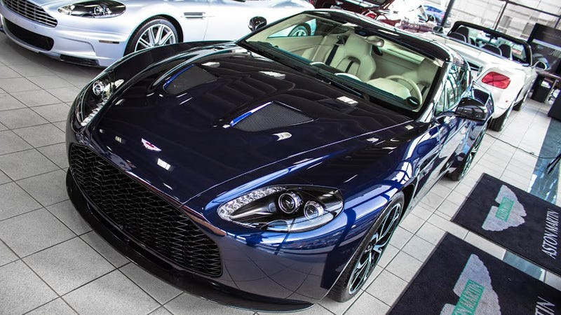 Holy Cow! There's An Aston Martin V12 Zagato For Sale In The US