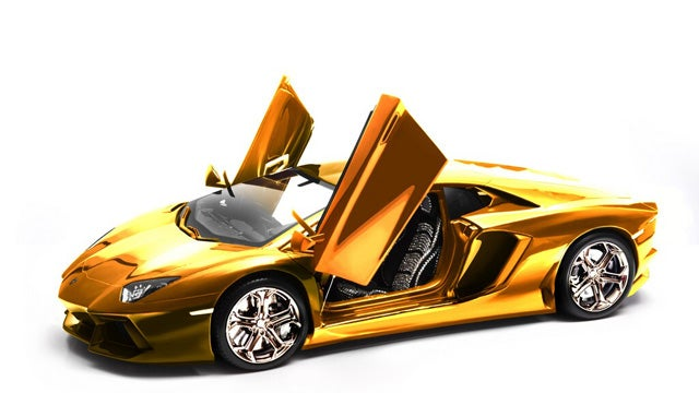 $4.72 million 1/8 scale Lamborghini Aventador model headed to auction
