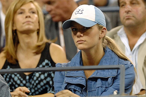 U.S. Open Update: Ivanovic Out, But Hot Girlfriend Boxes Intact