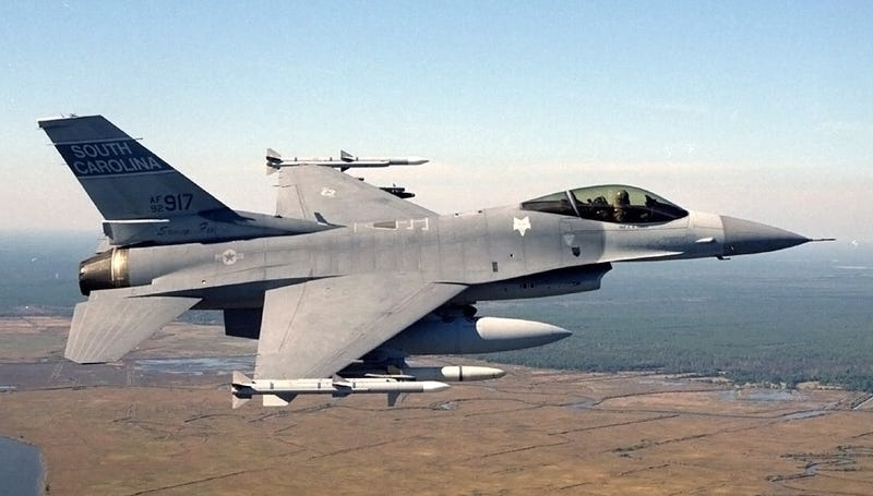 The F-16 Gets Upgraded To Play Nice With Modern Fighters
