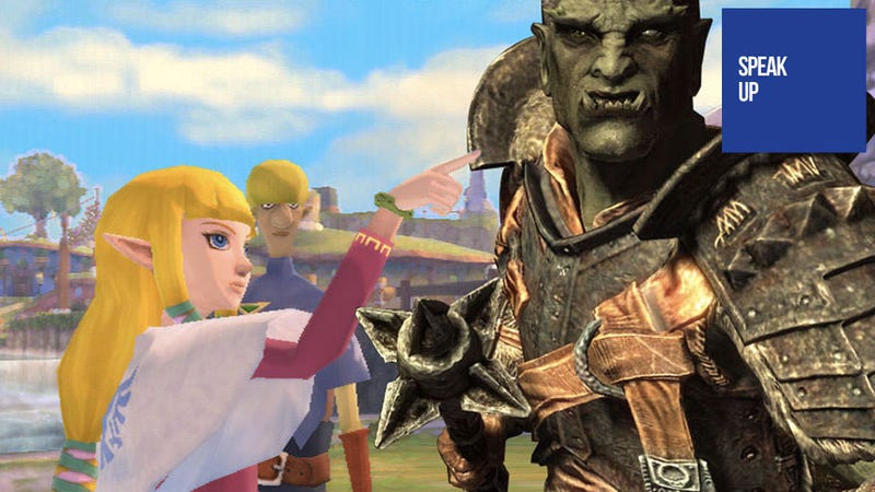 How Can Anyone Be Disappointed By Both Skyrim and Skyward Sword?
