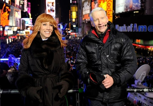 Kathy Griffin to Ruin Anderson Cooper's New Year's Eve Again This Year