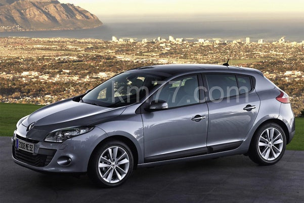 2009 Renault Megane Photos Leaked