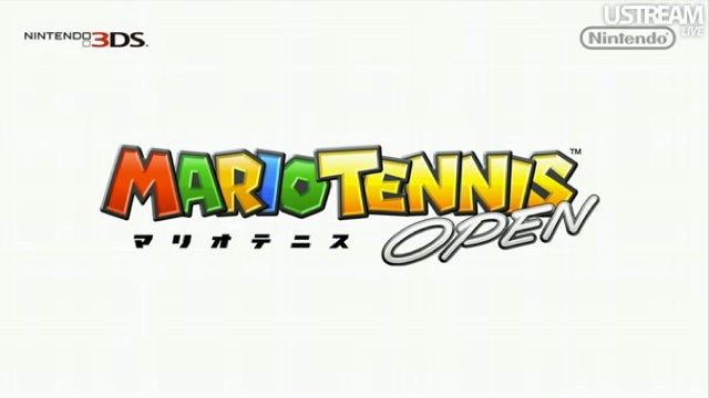 Mario Tennis Open Dated for Japan
